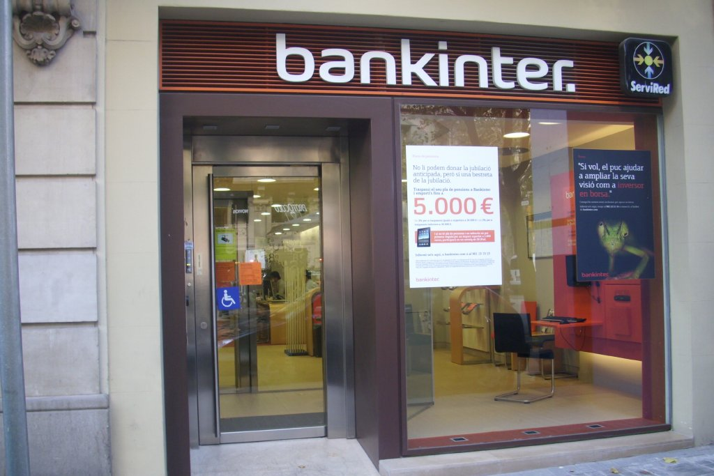 Bankinter red de oficinas 17 sucursales for Red de sucursales
