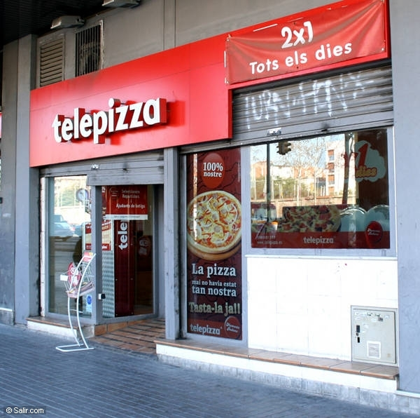 TELEPIZZA Restaurantes Fast-food - (40 locales)