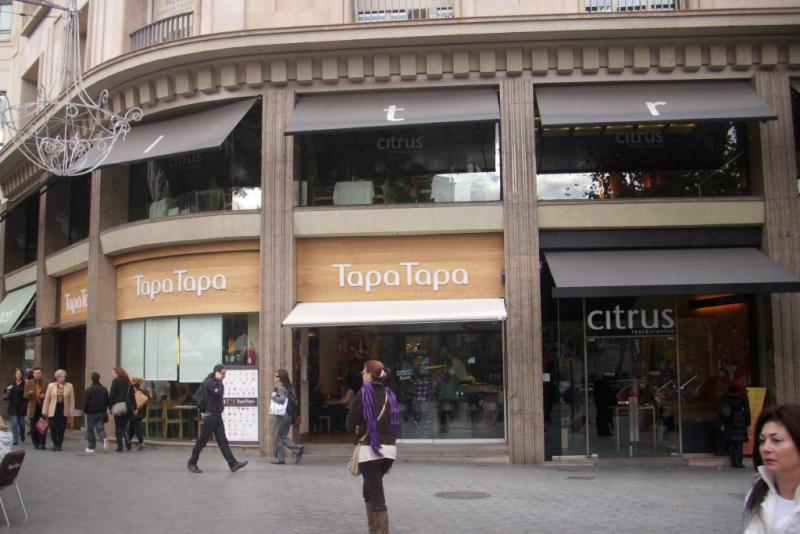 An grup 15 locales de restauraci n barcelona for Oficinas centrales sanitas madrid