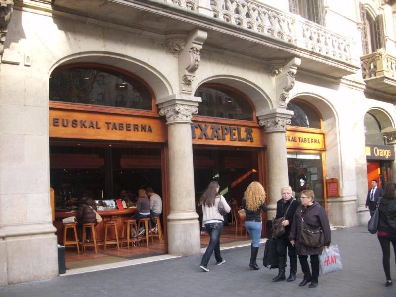 An grup 15 locales de restauraci n barcelona for Banco espirito santo oficinas