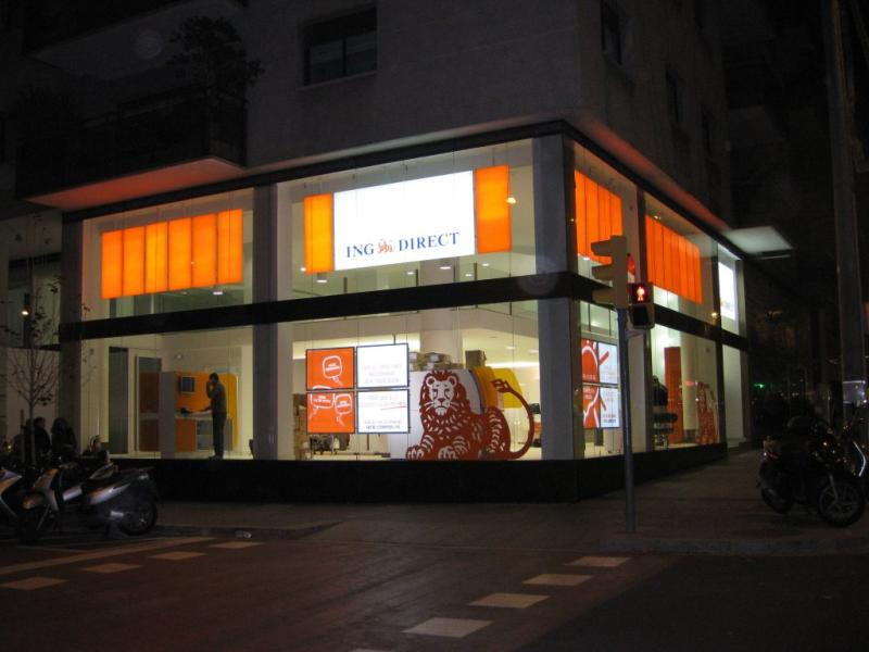 Ing direct red de oficinas 29 sucursales for Red de sucursales